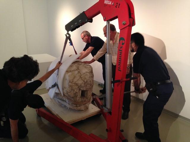 Exposición de Chillida montada por Expomed