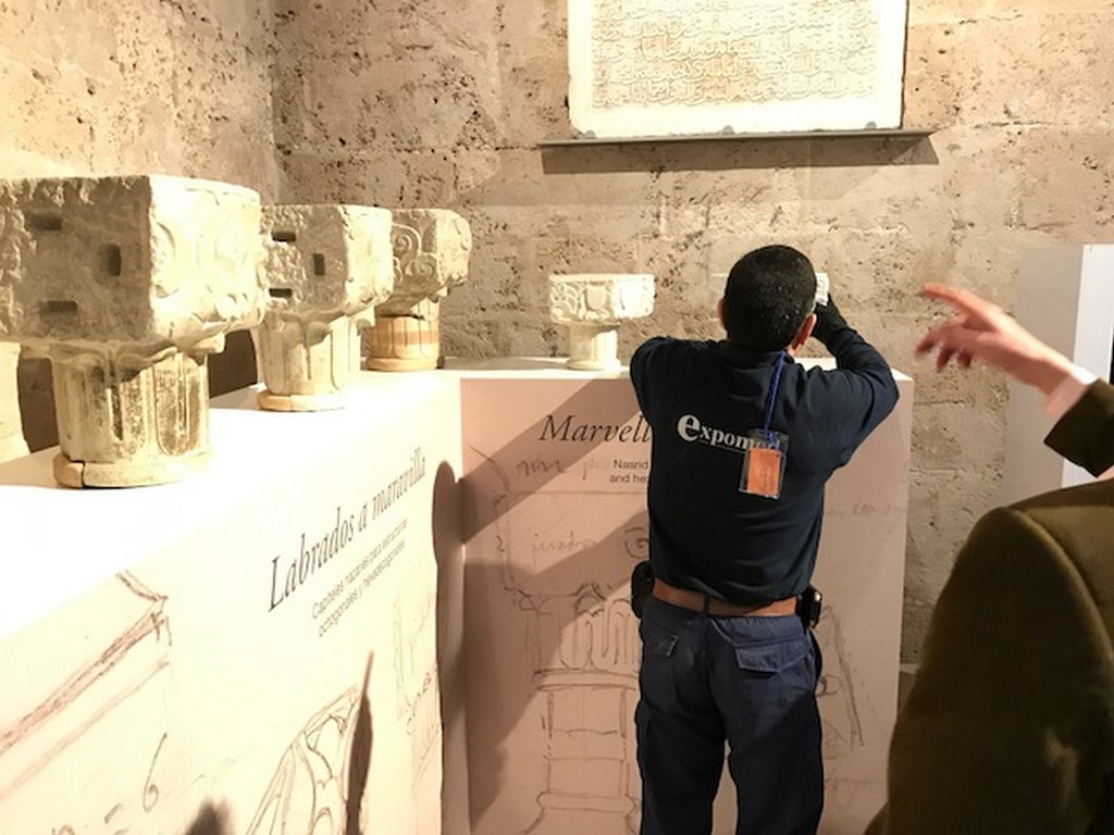 Montaje en La Alhambra