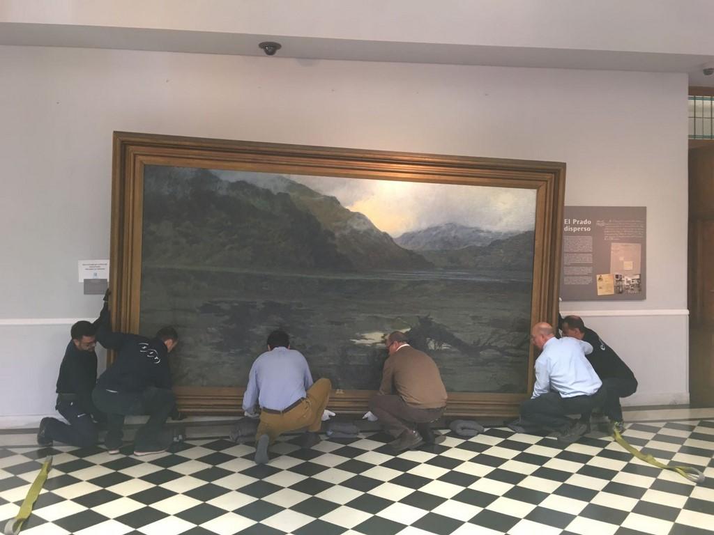Transporte y embalaje en el Museo Reina Sofía