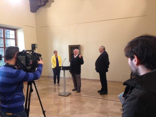 Exposición De Goya en el MUBAM